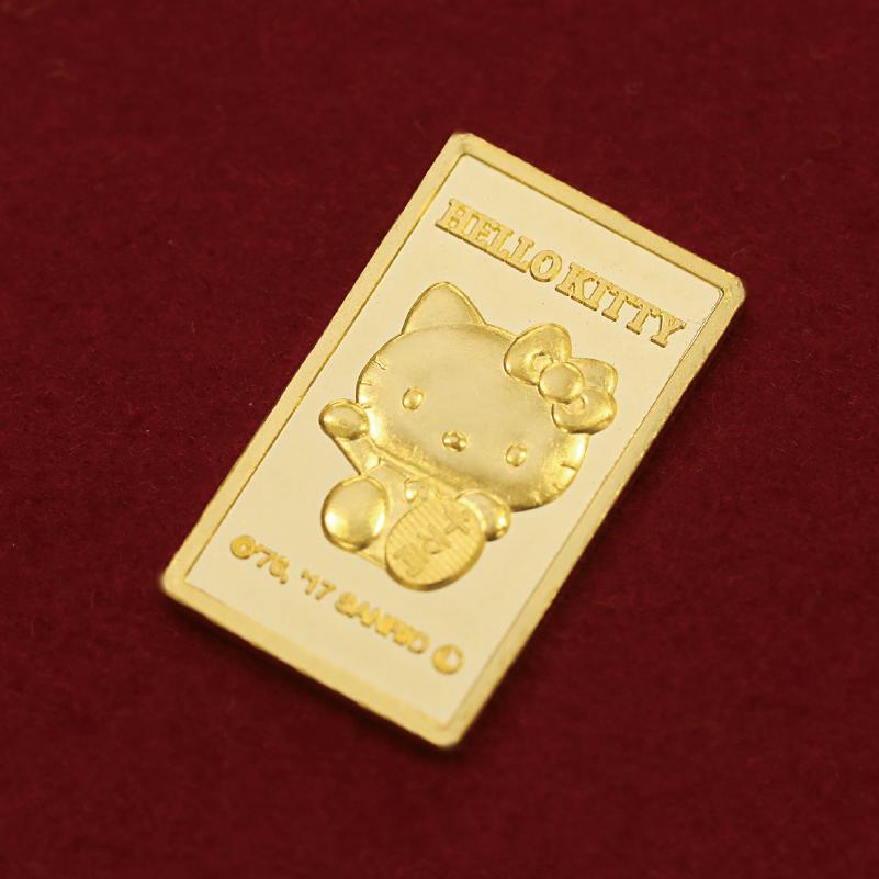 福招き純金インゴット(5g)