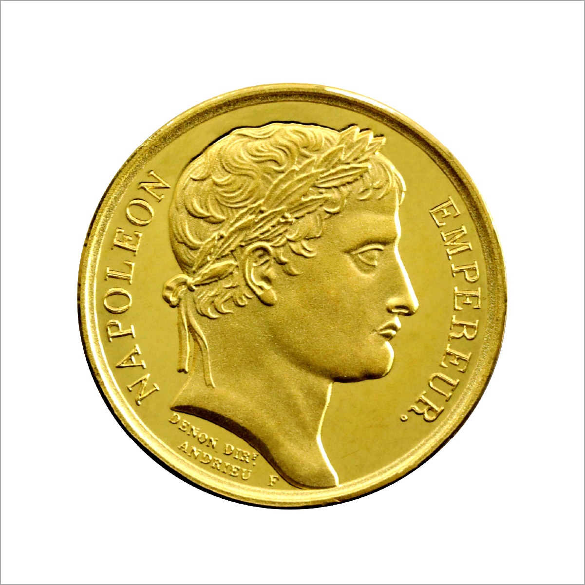 「ナポレオン」純金メダル